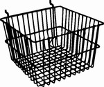 Deep Basket for Slatwall, Gridwall or Pegboard