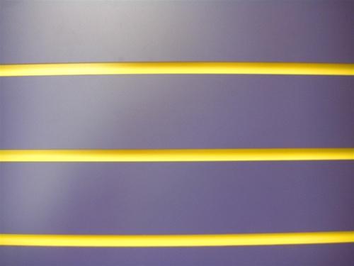 High Pressure Laminate Slatwall Custom Color Slatwall