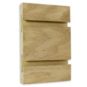 oak veneer slatwall