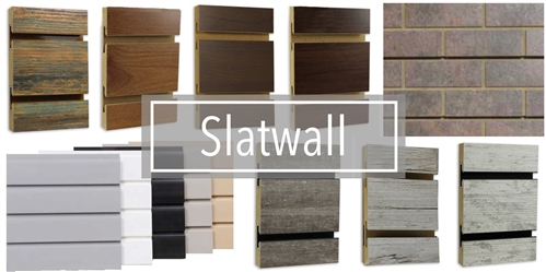 Slatwall Panels Melamine Slatwall Sheets Wood Slat