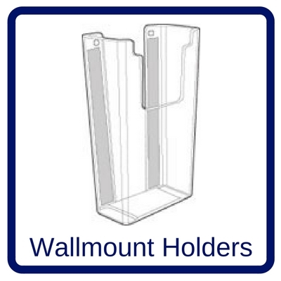 slatwall literature holders acrylic displays slatwall acrylic hangers brochure holders